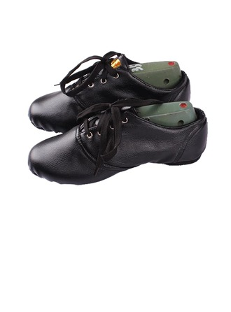 Women's Kids' Leatherette Flats Jazz Dance Shoes