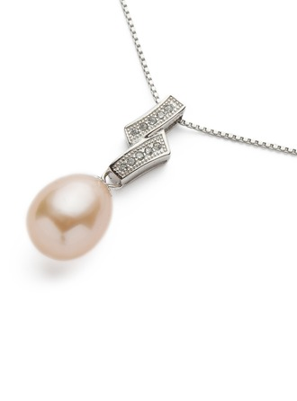 "Beautiful Sterling Silver/""AAA"" Pearl Ladies' Necklaces"